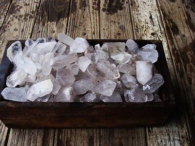 3000 Carat Lots of Unsearched Quartz Crystal Points + a FREE Faceted Gemstone