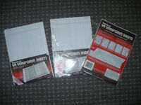 Rexel Twinlock Variform V4 Cash Refill Sheets 4 Columns, 3x Pack of 75.