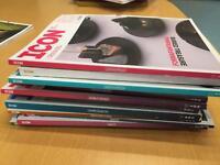 Icon magazine x 12 copies
