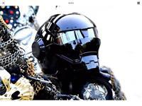 Crash helmet (new)