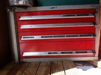 tool cabinet to fit in a van