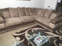 Corner sofa from furniture village in very good condition