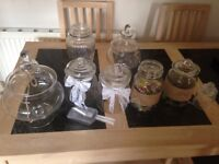 Bundle sale of rustic wedding decorations £60 ONO- Looking for quick sale