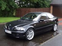 """05 plate facelift BMW 318i 4door 62,000 gen miles 18""""alloys new tyres CAR IS MINT DRIVES LIKE NEW"""