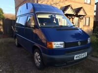 Volkswagen Transporter T4 2.5 TDi high top campervan / day van