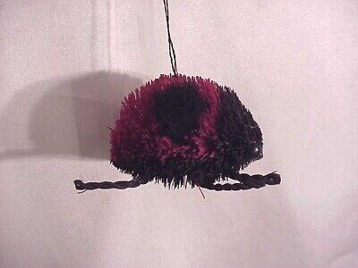 Macy's Martha Stewart Red & Black Ladybug Buri Christmas Ornament ~NWT!
