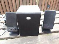 Pc speakers Logitech 2+1