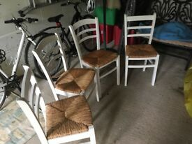 Nice set of 4 kitchen chairs