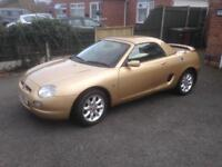 Mgf 1.8 in Sienna Gold.