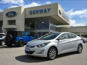 2016 Hyundai Elantra SPORT|BACK UP CAM|LOW KM!|$0DOWN $67 WEEKLY