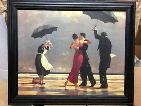 Jack Vettriano - Framed Digital Canvas - The Signing Butler - 71cm x 58cm