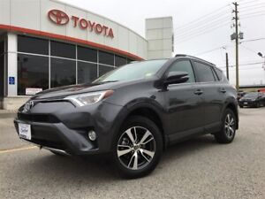 2016 Toyota RAV4 XLE AWD, REAR CAMERA, ALLOYS, MOONROOF
