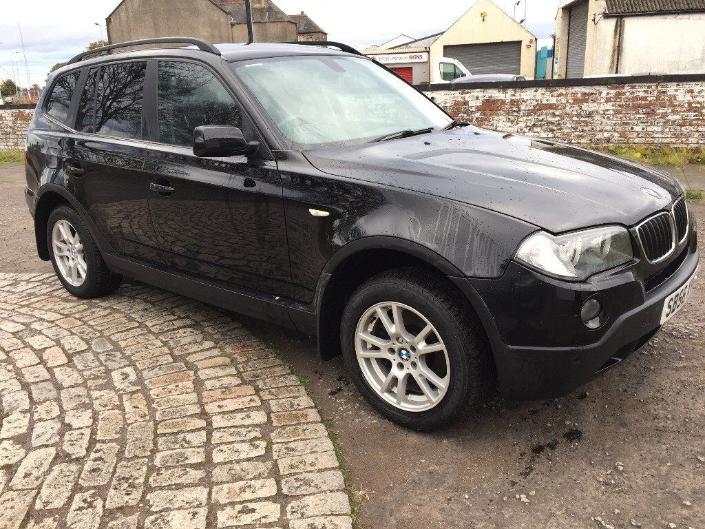 2006 bmw x3 2 0 diesel se 4 wheel drive 97500 miles with full service history mot till sept 2018. Black Bedroom Furniture Sets. Home Design Ideas