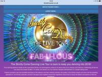 2 Strictly Tour Tickets