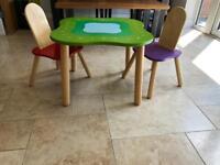 John Lewis, children's table, A-Z, play room, bedroom.