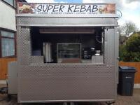 Catering trailer, kebab van, food business, trailer
