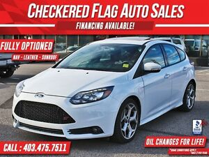2014 Ford Focus 252HP-NAV-SUNROOF-RECARO FUL LEATHER SEATS-252HP
