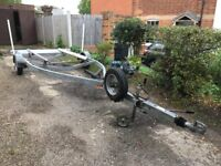 Boat trailer Galvanised Braked suit sports boat up to 19'