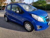 Chevrolet, SPARK, Hatchback, 2012, Manual, 1.0 5 doors £30 road tax