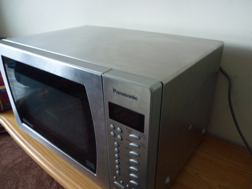 Panasonic Microwave Oven Nn St479s Stainless Steel Interior And Exterior