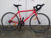 "Btwin Triban 3 Kids Road Triathlon Racing Bike, Size 48, 650cc (26"") Wheels"