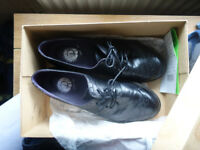 black shoes size 8 worn ~twice