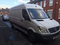 mercedes sprinter 170k long wheel base 311