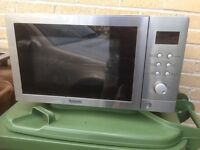 Baumatic BMC253SS 25 Litre Combination Built-in Microwave Oven with Grill VGC