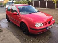 Volkswagen Golf 1.4 - red - 12 months Mot