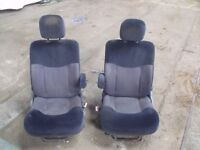 Captains seats and swivel bases. Camper/ Motorhome conversion