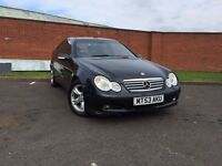 Mercedes C180 Kompressor SE 2003 model moted clean car 07398146529