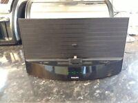 Philips bluetooth speaker and clock radio