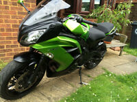 kawasaki er6f 2014 low miles looks and rides spot on
