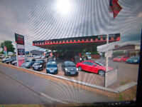 FORMER PETROL STATION PRIME LOCATION CURRENTLY RETAIL MOTOR TRADE CAR WASH CAR CARE £475000
