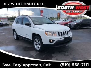 2012 Jeep Compass SPORT-4X4-LOADED
