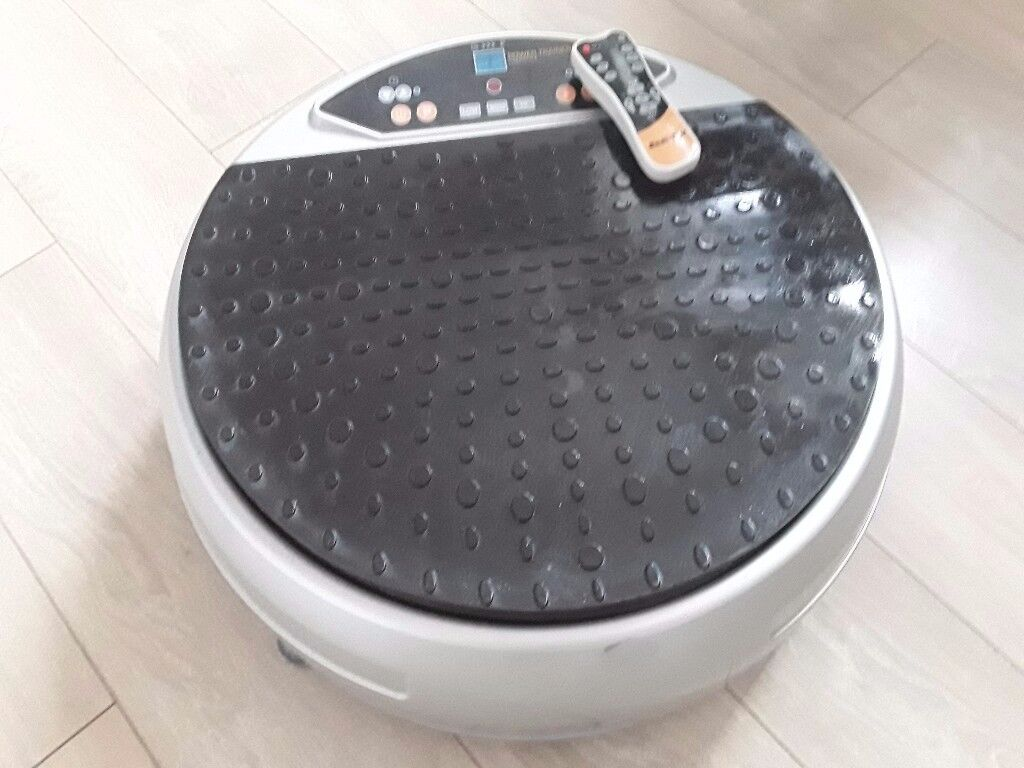 circular vibration plate and fitness mat