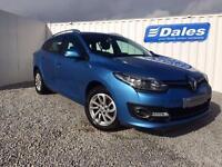 Renault Megane Dynamique Nav 1.5 Dci 110 Diesel Estate (blue rpb) 2014