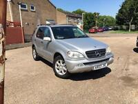 Mercedes Ml 270 CDI MANUAL 7 seater MOT Good ENGINE AND GEARBOX P/x bmw vw audi ford seat Kia van