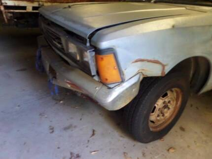 1981 Datsun 720 ute WRECKING FOR PARTS Warwick Southern Downs Preview