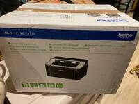 Brother Laser printer with print cartridge
