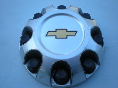 2007 - 2014 Chevrolet Silverado 2500 3500 Machined OEM Center Cap P/N 9596342