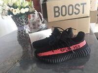 Adidas Yeezy 350 Boost V2 Black Red New with Box Balenciaga Nike Oreo