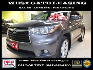 2014 Toyota Highlander LIMITED | NAVIGATION | CAMERA | LEATHER |