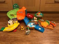 Vtech toot toot zoo with animals