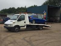 Scrap car collection and removal bristol