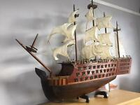 Antique Model Ship