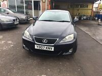 Lexus IS 220D 2.2 TD SE 4dr FULL SERVICE HISTORY.