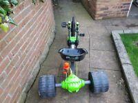 Go kart/huffy green machine