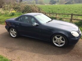 MERCEDES 320 SLK CONVERTIBLE..1 FORMER KEEPER..BEAUTIFUL with FULL HISTORY asnd LOW MILES !