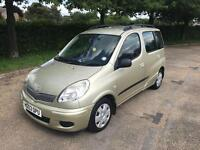 Toyota Yaris verso 1.3. 2003 automatic looks and drives the best.. 1 YEARS MOT
